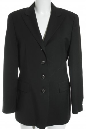 Windsor Smoking-Blazer schwarz Business-Look