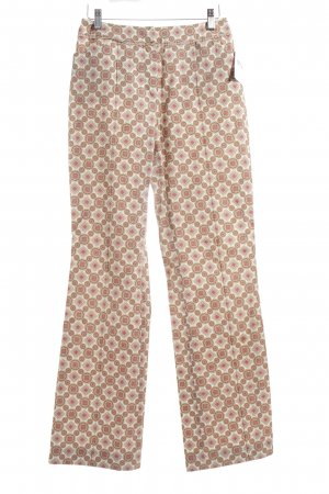 Windsor Stoffhose abstraktes Muster Casual-Look