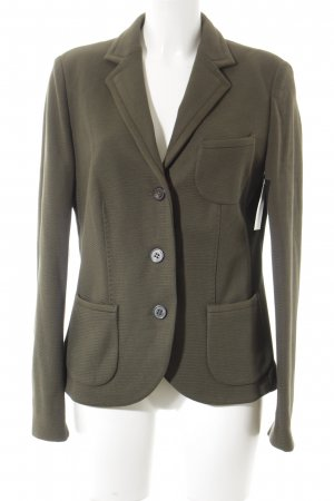 Windsor Knitted Blazer olive green-khaki classic style