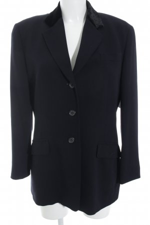 Windsor Sweatblazer dunkelblau Business-Look