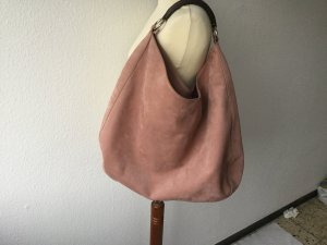 Windsor Tasche Wildledertasche in Rose edel wie neu