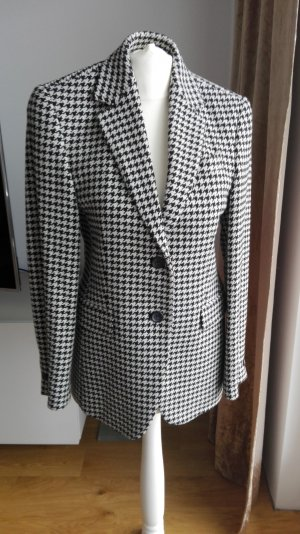 Windsor -Tweed Blazer scharz weiss Karo Gr. 34