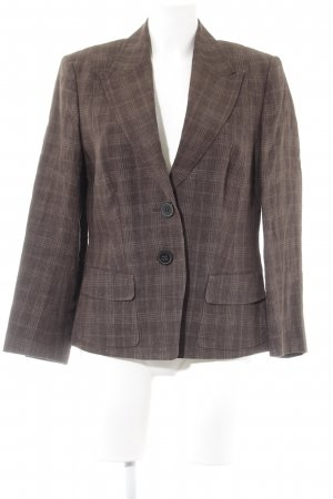 Windsor Tweedblazer graubraun-creme Karomuster Dandy-Look
