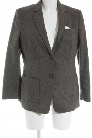 Windsor Unisex-Blazer graubraun Nadelstreifen Business-Look