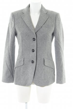 Windsor Blazer in lana grigio chiaro modello web stile professionale