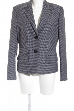 Windsor Woll-Blazer dunkelblau-grau Hahnentrittmuster klassischer Stil