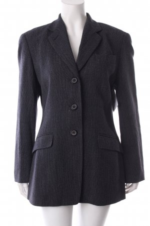 Windsor Woll-Blazer dunkelgrau Nadelstreifen