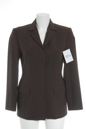 Windsor Blazer en laine gris brun style décontracté
