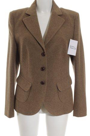 Windsor Woll-Blazer hellbraun Elegant