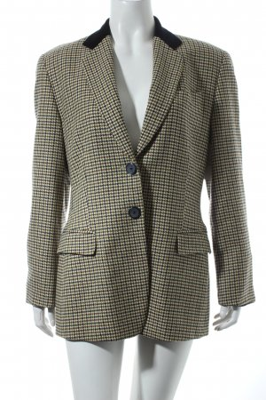 Windsor Woll-Blazer Karomuster Casual-Look