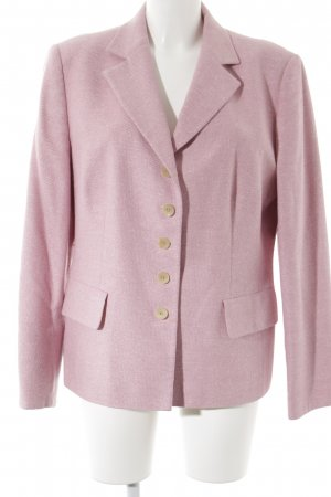 Windsor Woll-Blazer rosa Casual-Look
