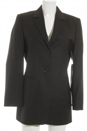 Windsor Woll-Blazer schwarz Business-Look