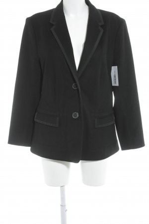 Windsor Woll-Blazer schwarz Casual-Look