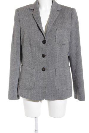 Windsor Woll-Blazer schwarz-grau Fischgrätmuster klassischer Stil