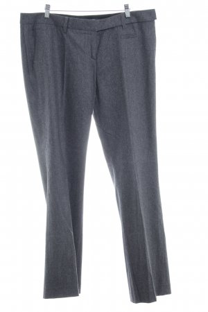 Windsor Wollhose anthrazit-grau meliert Business-Look