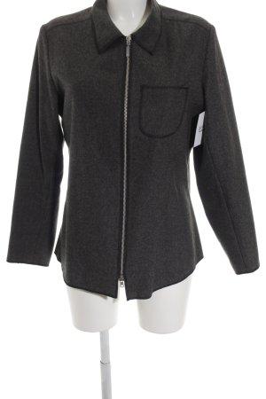 Windsor Veste en laine gris foncé style décontracté