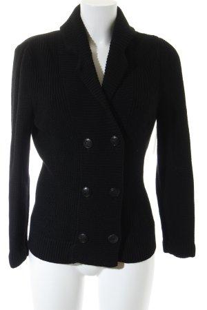 Windsor Wolljacke schwarz Casual-Look