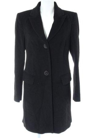 Windsor Wollmantel schwarz Casual-Look