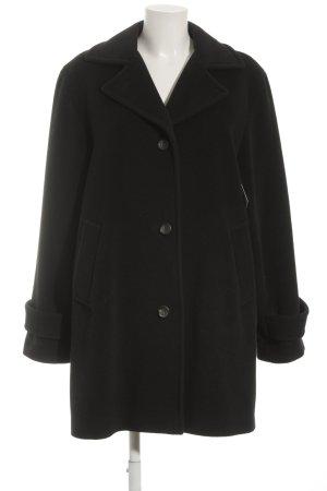 Windsor Wollmantel schwarz Elegant
