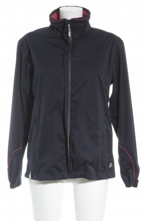 Windbreaker dark blue simple style