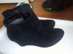 Winter ankle boots Wildleder Keilabsatz