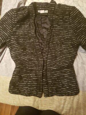 H&M Knitted Blazer black