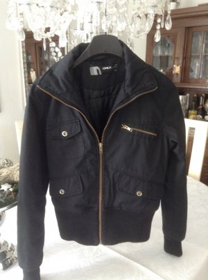 Winter-Bomberjacke/ schwarz / Gr.34/36 / ONLY