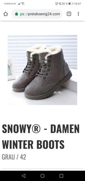 Sneeuwlaarzen grijs