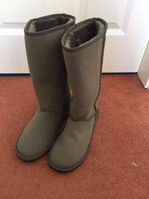 Winter Boots Damen grau Größe 39