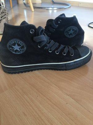 Winter Converse, chucks, all stars, schwarz, Größe 40