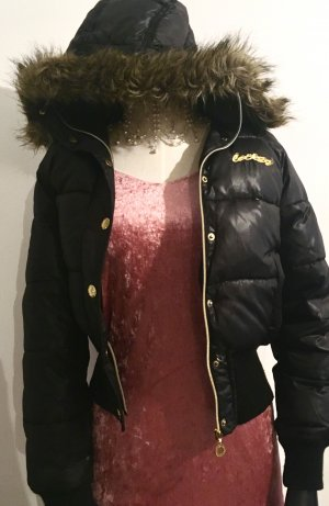 Winter Daunen Bomber mit Kaputze Jacke