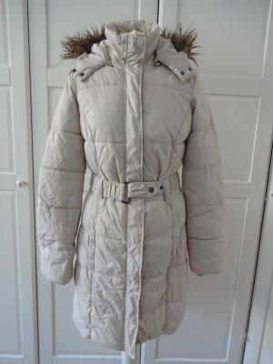 winter Daunenjacke cremeweiß