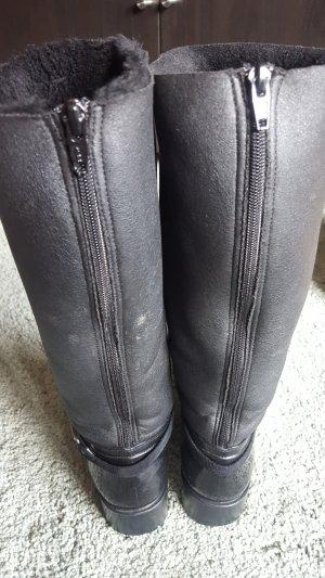 Botas de agua negro-color plata