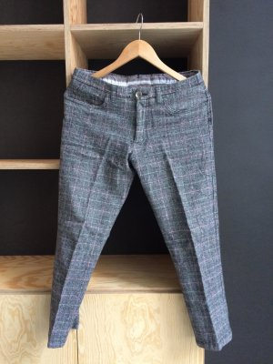 7/8 Length Trousers multicolored wool