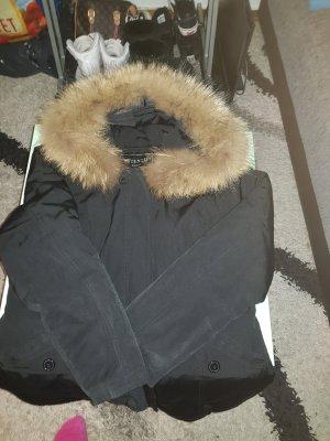 Attentif Winterjack zwart
