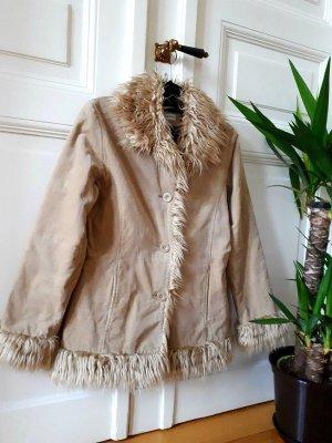Winter Jacke Fake Fure