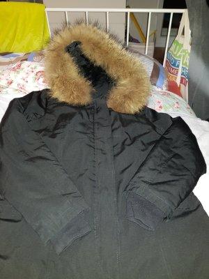 Attentif Winter Jacket black-light brown