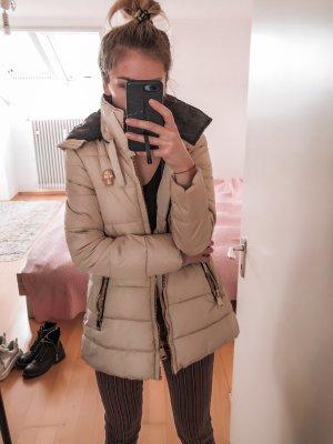 Winter Jacke gr S beige