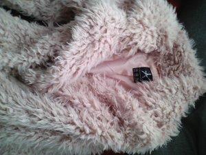 winter jacke hell rosa