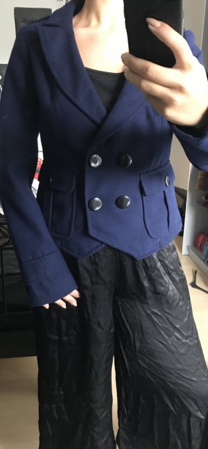 Winter Jacke in tiefblau