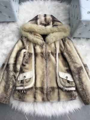 Winter Jacke Kunst Pelz
