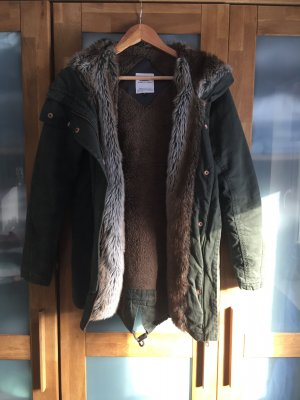 Winter Jacke mit Fell
