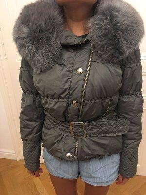 Winter Jacke mit Pelz