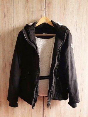Winter Jacke schwarz Gr. XS