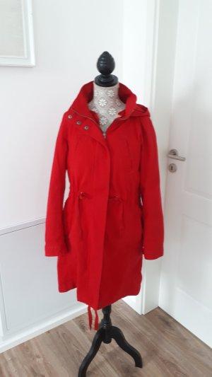 Winter Jacke von Benetton - rot, wie neu