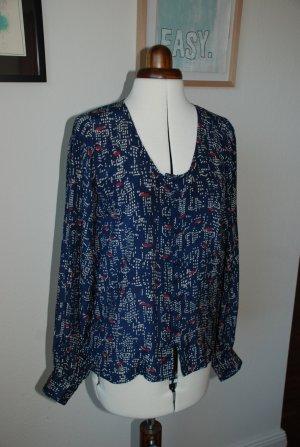 """WINTER KATE Vintage Silk """"Moonbeam"""" Seidenbluse Gr. 36"""