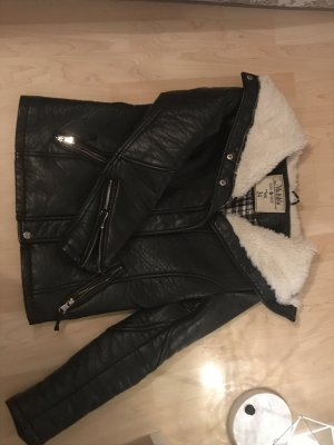 Winter-Lederjacke