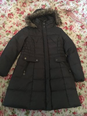 Yessica Hooded Coat anthracite