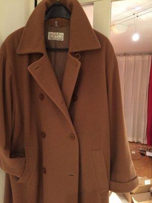 Euromoda Cappotto in lana marrone chiaro