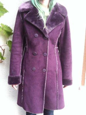 Winter Mantel hochwertiges Fell Imitat